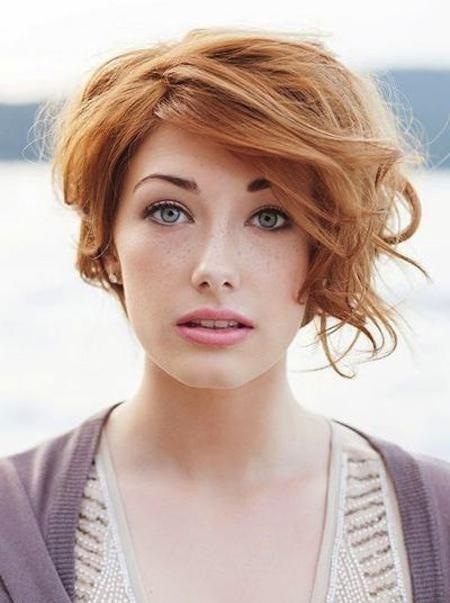 Short Hairstyles And Cuts | Dark Blonde Hair With Red Hue Inside Strawberry Blonde Short Haircuts (View 18 of 20)
