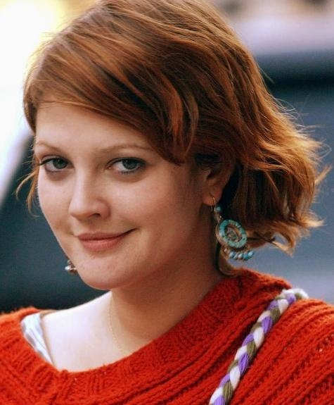 Short Hairstyles And Cuts | Drew Barrymore Short Red Hair Intended For Drew Barrymore Short Hairstyles (View 18 of 20)