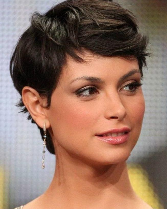 Short Hairstyles And Cuts | Fine Short Haircuts For Thick Hair Within Short Haircuts For Round Faces And Thick Hair (View 15 of 20)