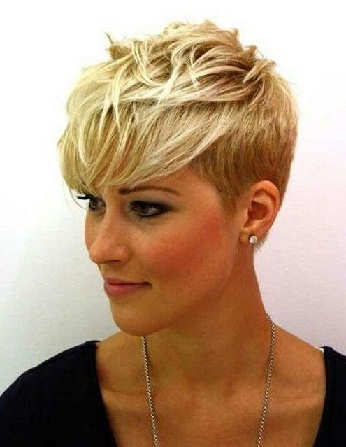 Short Hairstyles And Cuts | Fine Short Hairstyles For Women With Inside Short Haircuts For Blondes With Thin Hair (View 17 of 20)