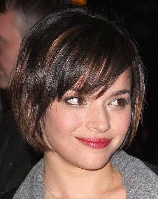 Short Hairstyles And Cuts | Short Haircuts For Women With Round Throughout Womens Short Haircuts For Round Faces (View 17 of 20)
