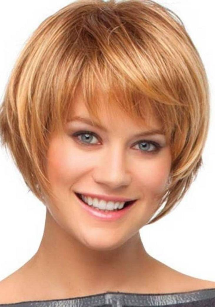Short Hairstyles And Cuts | Short Hairstyles For Round Faces 126 With Trendy Short Haircuts For Round Faces (View 16 of 20)