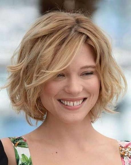 Short Hairstyles And Cuts | Short Hairstyles For Thick Wavy Hair Inside Short Hairstyles For Square Faces And Thick Hair (View 6 of 20)