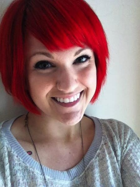 Featured Photo of Bright Red Short Hairstyles