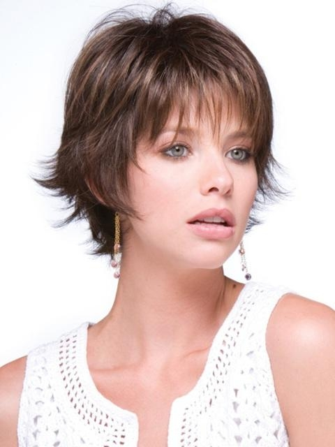 Short Hairstyles: Awesome Ideas Short Hairstyles For Thin Hair And For Short Hairstyles For Thin Hair And Round Faces (View 15 of 20)