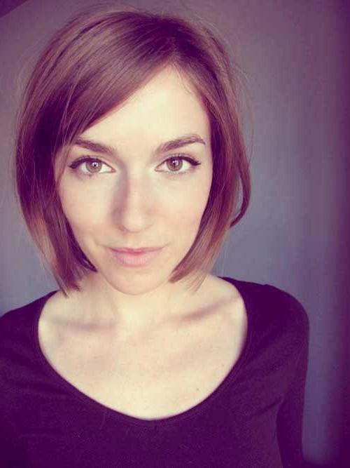 Short Hairstyles: Awesome Short Hairstyles For Thin Straight Hair Within Cute Short Haircuts For Thin Straight Hair (View 17 of 20)