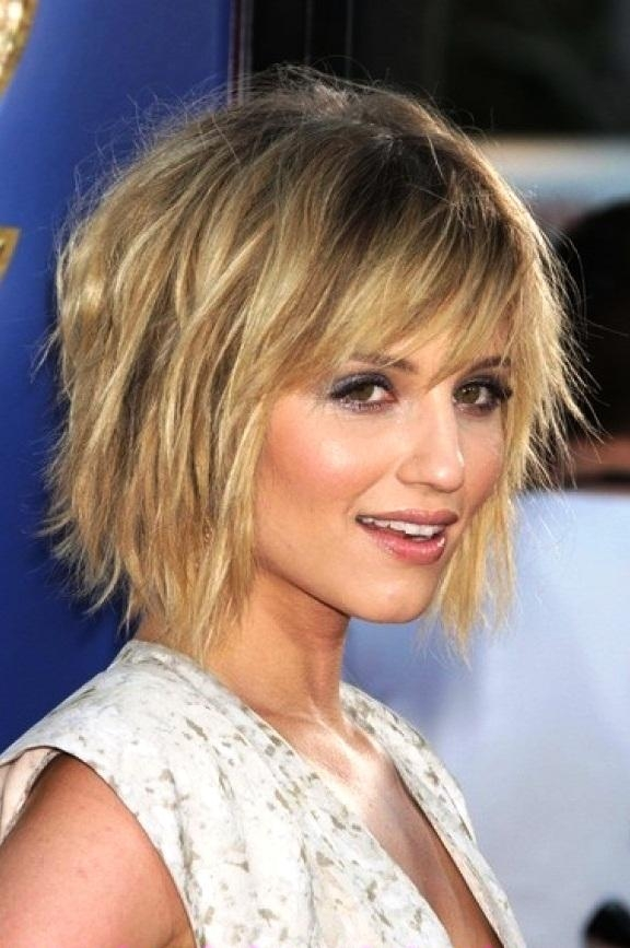 Short Hairstyles: Best 2016 Short Hairstyles For Thick Hair 2016 Throughout Choppy Short Hairstyles For Thick Hair (View 2 of 20)