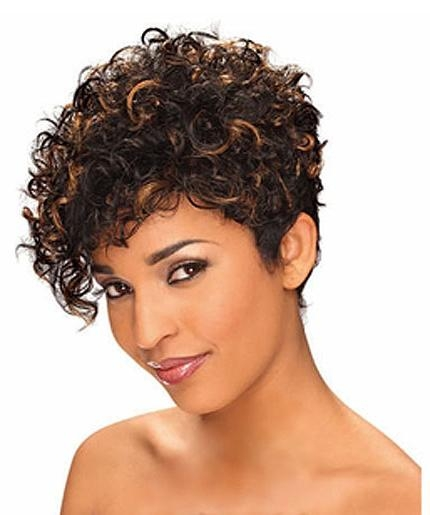 Short Hairstyles: Best Samples Short Hairstyles For Naturally Regarding Short Haircuts For Naturally Curly Hair (View 9 of 20)