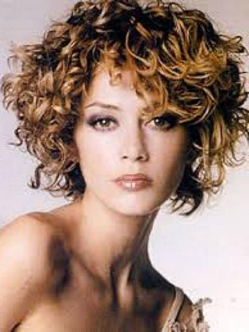 Short Hairstyles: Best Short Curly Hairstyles For Round Faces 2016 Intended For Short Haircuts For Round Faces With Curly Hair (View 17 of 20)