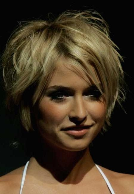Short Hairstyles: Best Short Hairstyles For Thick Hair With Cute Within Great Short Haircuts For Thick Hair (View 19 of 20)