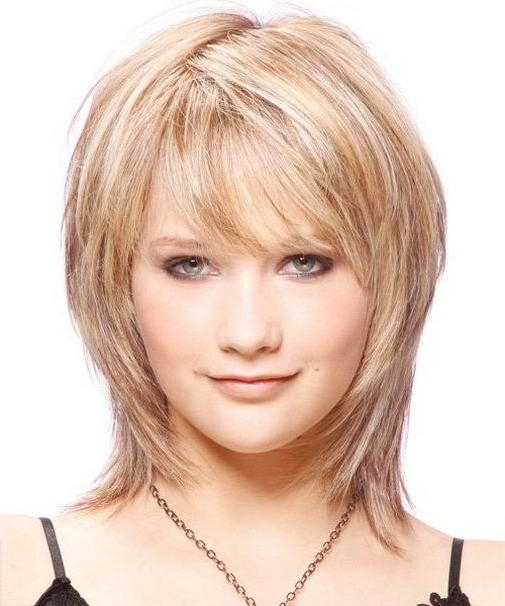Short Hairstyles: Best Short Hairstyles For Thin Hair And Round Inside Womens Short Haircuts For Round Faces (View 20 of 20)