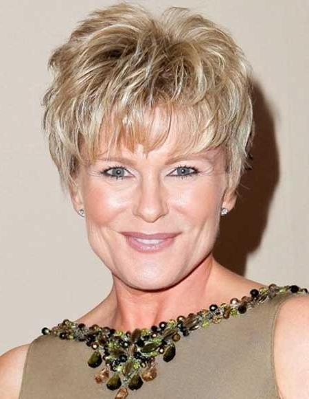 Short Hairstyles: Best Short Hairstyles Older Ladies Sample Ideas Pertaining To Short Haircuts For Mature Women (View 14 of 20)