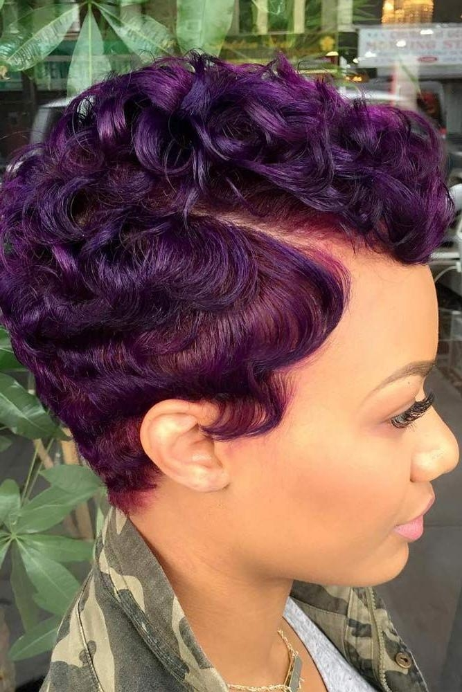Short Hairstyles : Cute Black Short Hairstyle Basic Ideas Redheads Throughout Black Short Hairstyles (View 13 of 20)