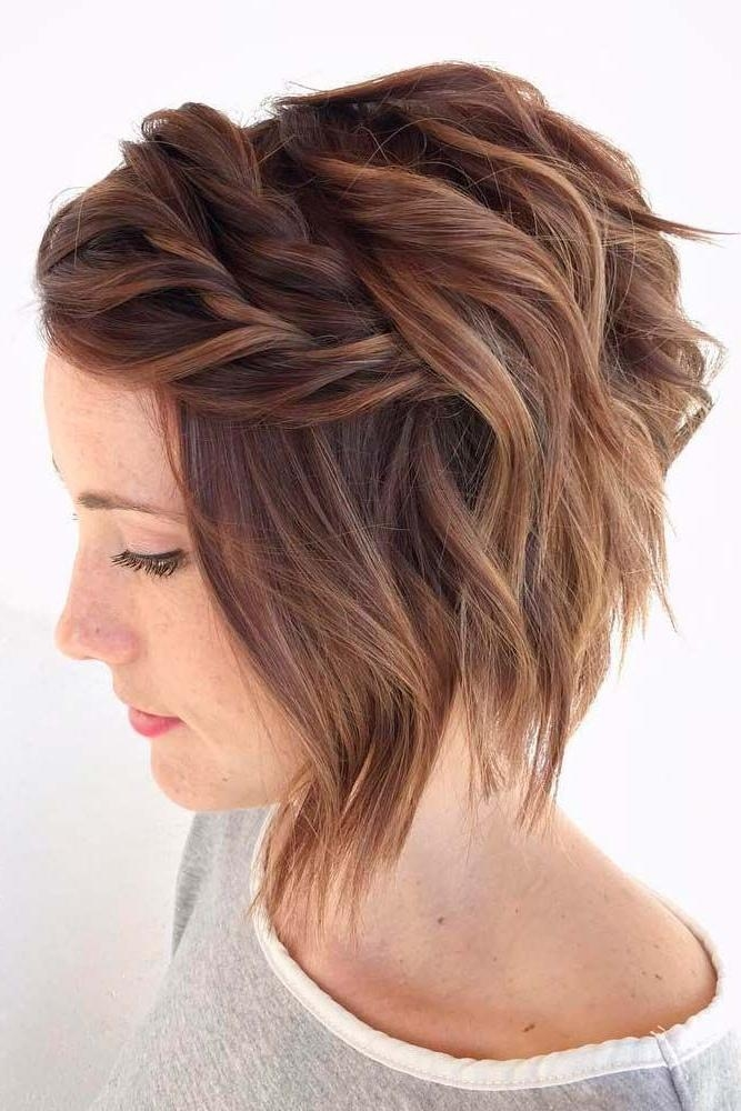 Short Hairstyles : Cute Easy Prom Hairstyles For Short Hair Regarding Short Haircuts For Prom (View 17 of 20)