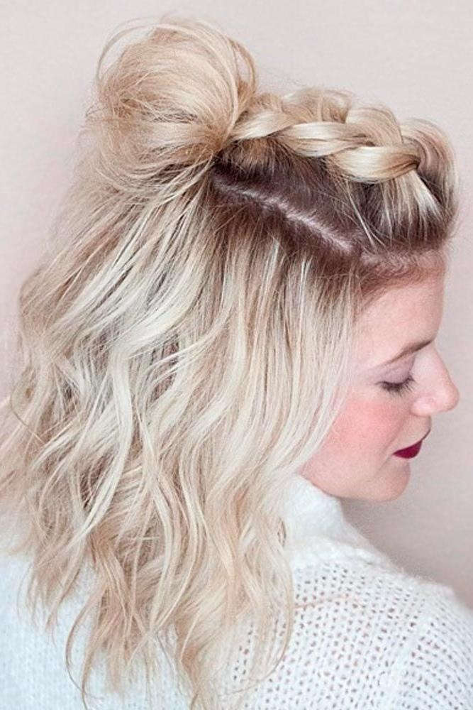Short Hairstyles : Easy Prom Hairstyles For Short Curly Hair Pertaining To Prom Short Hairstyles (View 13 of 20)