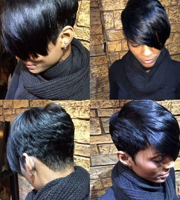 Short Hairstyles For African American Women With Heart Shaped Faces With Regard To Short Hairstyles For Round Faces African American (View 15 of 20)