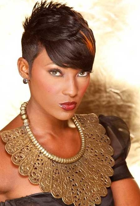 Short Hairstyles For Black Women 2013 – 2014 | Short Hairstyles Regarding Black Hairstyles Short Haircuts (View 19 of 20)