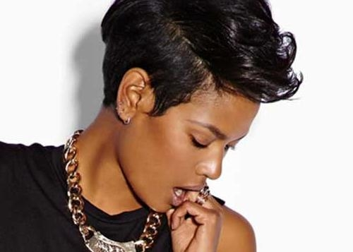 Short Hairstyles For Black Women | Short Hairstyles 2016 – 2017 With Short Haircuts For Black (View 20 of 20)