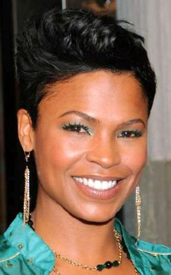 Featured Photo of Black Short Hairstyles For Long Faces