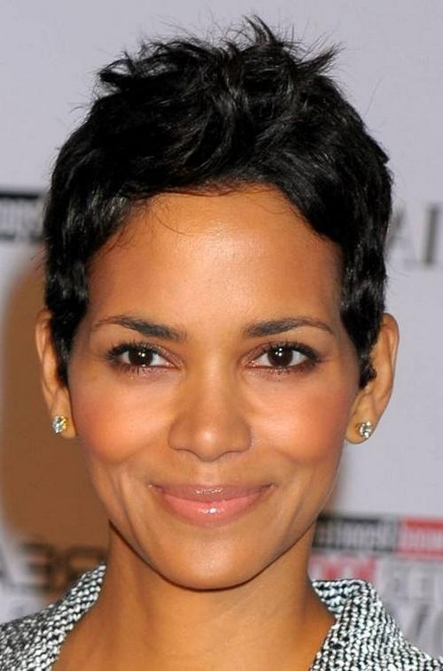 Short Hairstyles For Black Women With Round Faces – Fashion Trends Within Black Short Haircuts For Round Faces (View 16 of 20)
