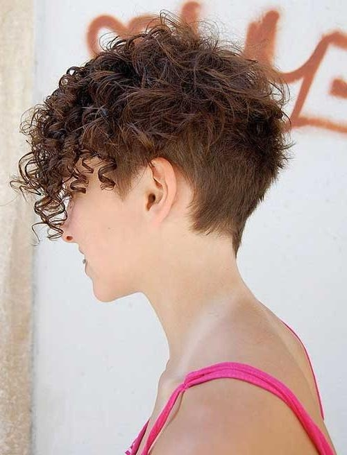 Short Hairstyles For Curly Frizzy Hair | Short Hairstyles 2016 Regarding Short Haircuts For Thick Curly Frizzy Hair (View 17 of 20)