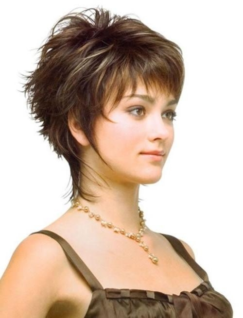 Short Hairstyles For Fine Hair – 2014 Cute Short Hairstyles For Inside Short Haircuts For Women With Big Ears (View 16 of 20)