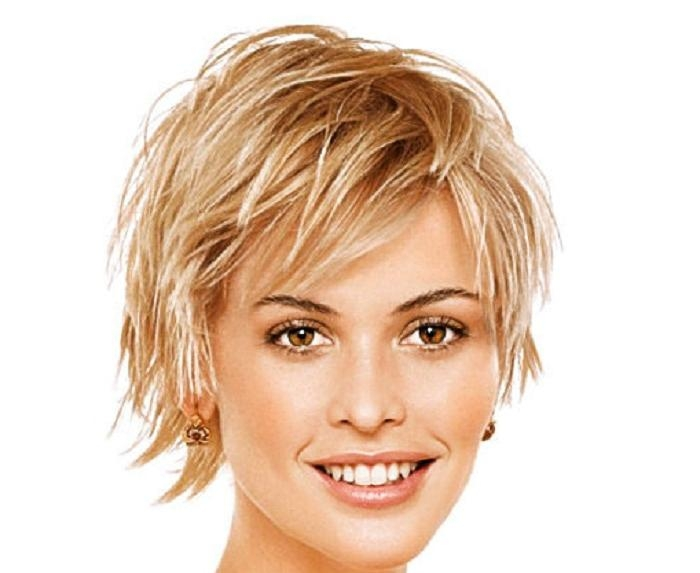 Short Hairstyles For Fine Hair Easy | Medium Hair Styles Ideas – 38383 Pertaining To Short Haircuts For High Foreheads (View 14 of 20)