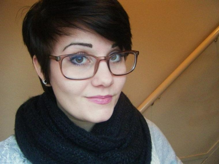 Short Hairstyles For Glasses Wearers | Cuteandeasyhairstyles Intended For Short Hairstyles For Glasses Wearers (View 14 of 20)