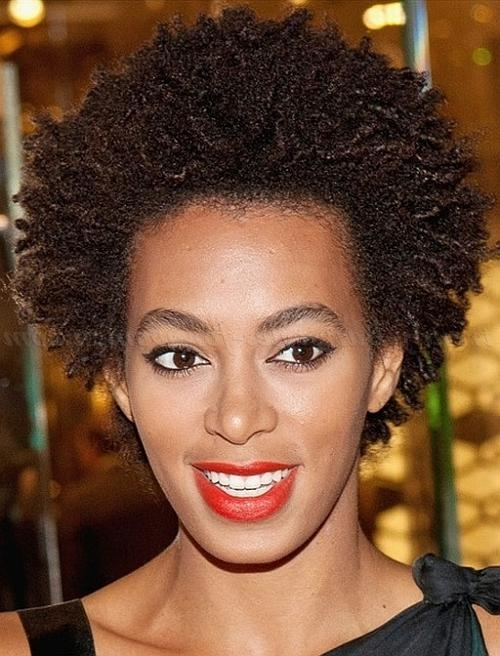 Short Hairstyles For Natural Curly Hair – Natural Curly Short In Naturally Curly Short Hairstyles (View 16 of 20)