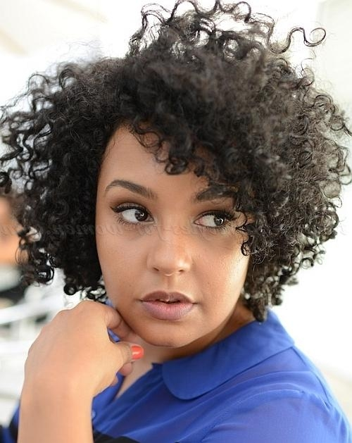 Short Hairstyles For Natural Curly Hair – Short Hairstyle For Pertaining To Naturally Curly Short Haircuts (View 17 of 20)