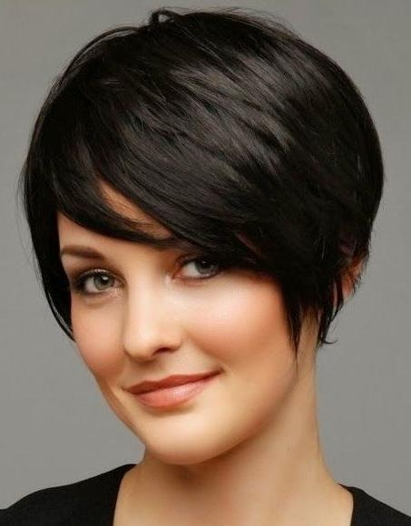 Short Hairstyles For Oval Faces (6) – Glamorous Hairstyles In Short Hairstyles For An Oval Face (View 18 of 20)