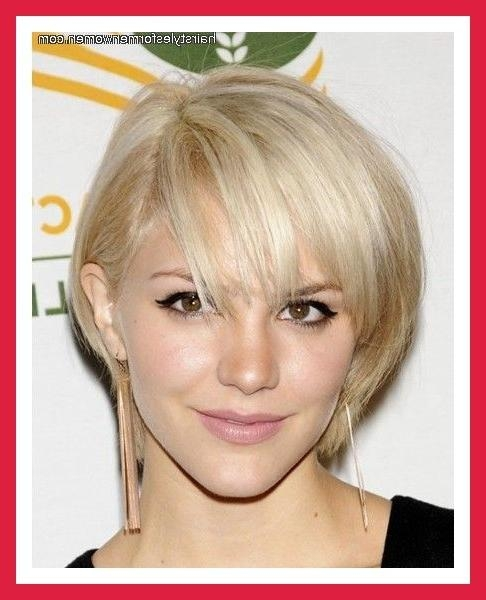 Short Hairstyles For Oval Faces – The Xerxes In Short Hairstyles For Fine Hair Oval Face (View 16 of 20)