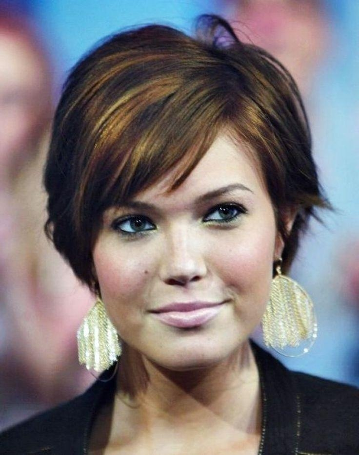 Short Hairstyles For Plus Size Women | Hair | Pinterest | Short In Edgy Short Hairstyles For Round Faces (View 18 of 20)