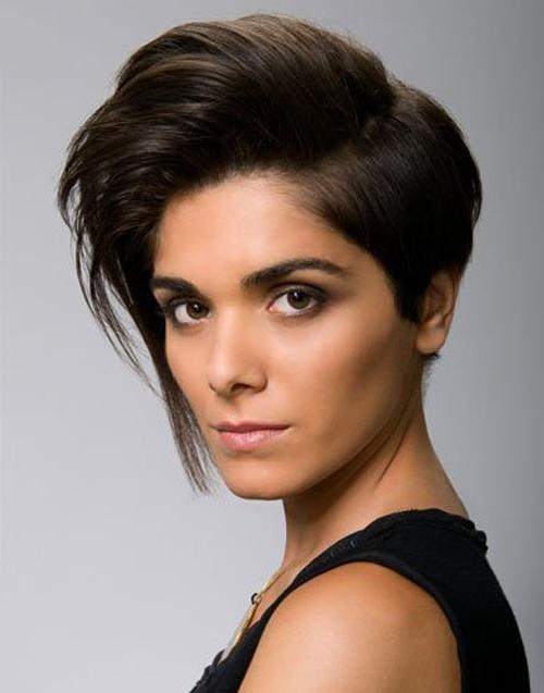 Short Hairstyles For Square Faces : 8 Nice Short Hairstyles For With Short Hairstyles For Square Face (View 19 of 20)
