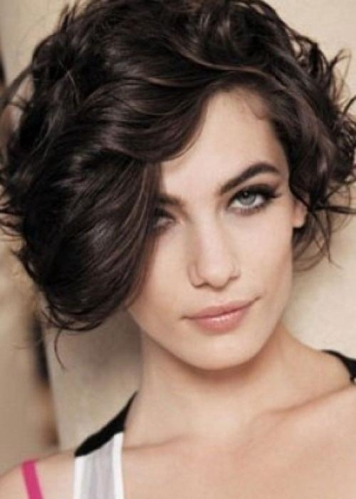 Short Hairstyles For Square Faces With Thick Hair – Cool & Trendy Within Short Hairstyles For Square Faces And Thick Hair (View 14 of 20)