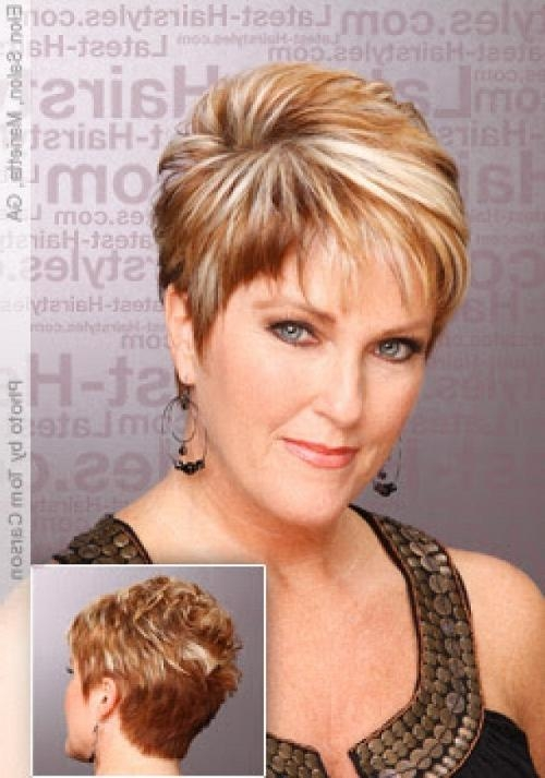 Short Hairstyles For Thick Hair Round Face | Hairstyle Ideas In 2017 Regarding Short Haircuts For Round Faces And Thick Hair (View 19 of 20)
