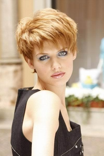 Short Hairstyles For Thick Hair Small Face – Short Hair Fashions Intended For Short Hairstyles For Small Faces (View 12 of 20)