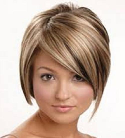 Short Hairstyles For Thin Hair 2013 : 8 Beautiful Short Hairstyles With Short Hairstyles For Thin Hair And Round Faces (View 14 of 20)