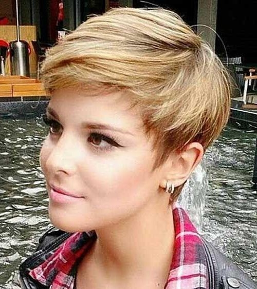Short Hairstyles For Women – Short And Cuts Hairstyles Intended For Short Haircuts For Round Faces (View 19 of 20)