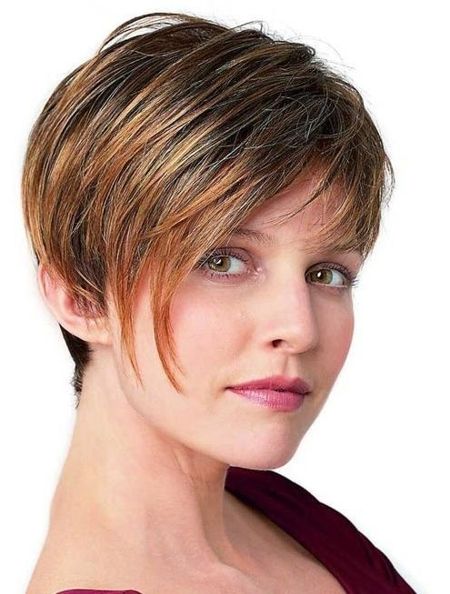 Short Hairstyles For Women Thick Hair – Popular Haircuts Intended For Very Short Haircuts For Women With Thick Hair (View 17 of 20)