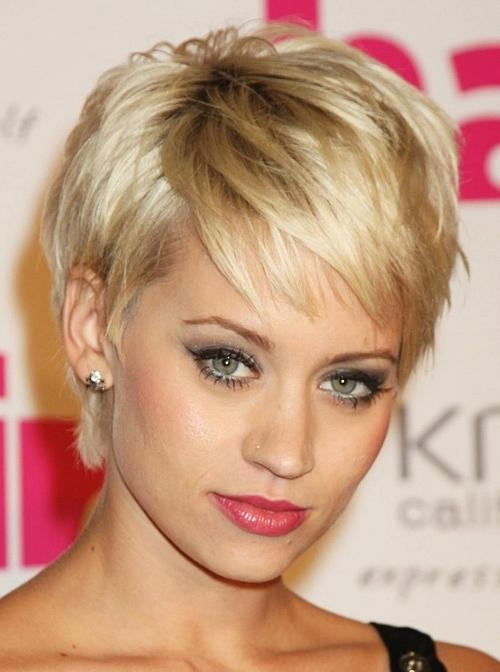 Short Hairstyles For Women With Thick Hair 2013 – Hairstyles Throughout Very Short Haircuts For Women With Thick Hair (View 18 of 20)