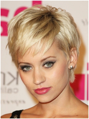 Short Hairstyles | Herinterest/ In Short Haircuts For High Cheekbones (View 13 of 20)