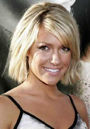 Short Hairstyles: Kristin Cavallari's Short Hair Style Throughout Kristin Cavallari Short Hairstyles (View 19 of 20)