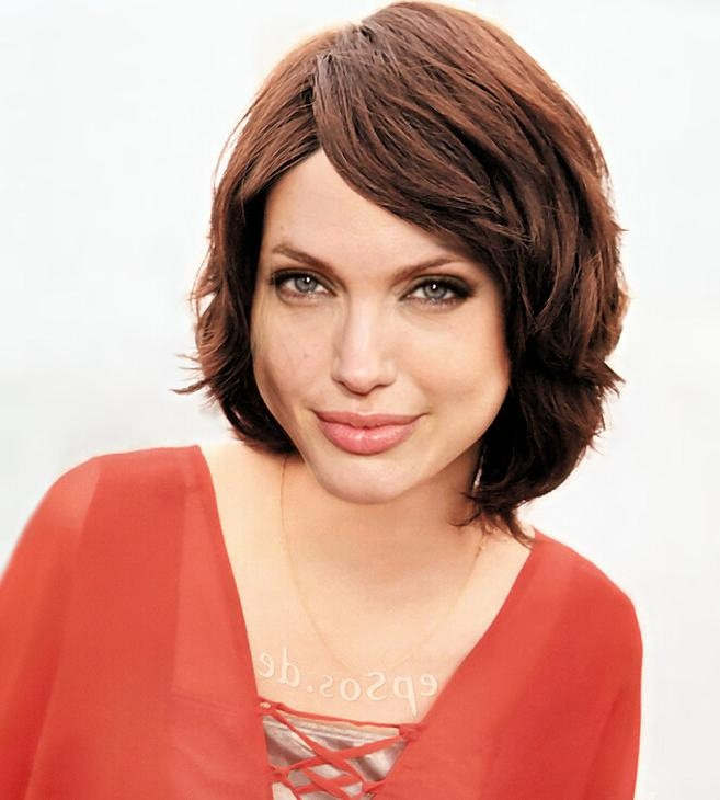 Short Hairstyles Make Angelina Jolie Happy | Epsos (View 19 of 20)