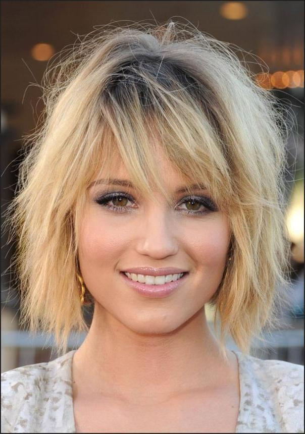Short Hairstyles : Medium Short Hairstyles For Round Faces Throughout Short Hairstyles For Thin Fine Hair And Round Face (View 13 of 20)