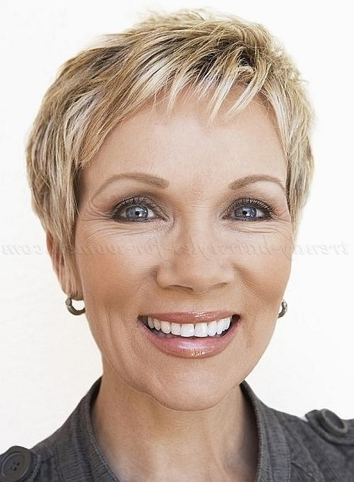 Short Hairstyles Over 50 – Short Haircut For Women Over 50 Within Short Haircuts For Mature Women (View 16 of 20)