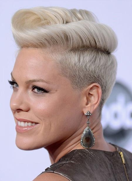 Short Hairstyles P Nk – Hairstyles For Pink Short Haircuts (View 18 of 20)