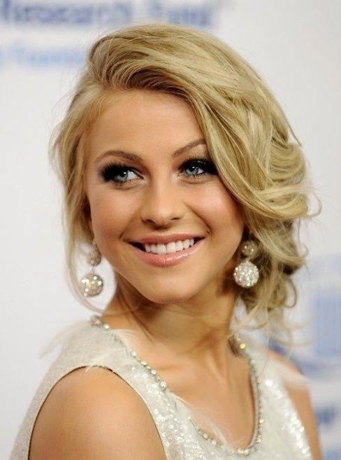 Short Hairstyles: Prom Hairstyles For Short Hair Simple Prom Intended For Prom Short Hairstyles (View 15 of 20)
