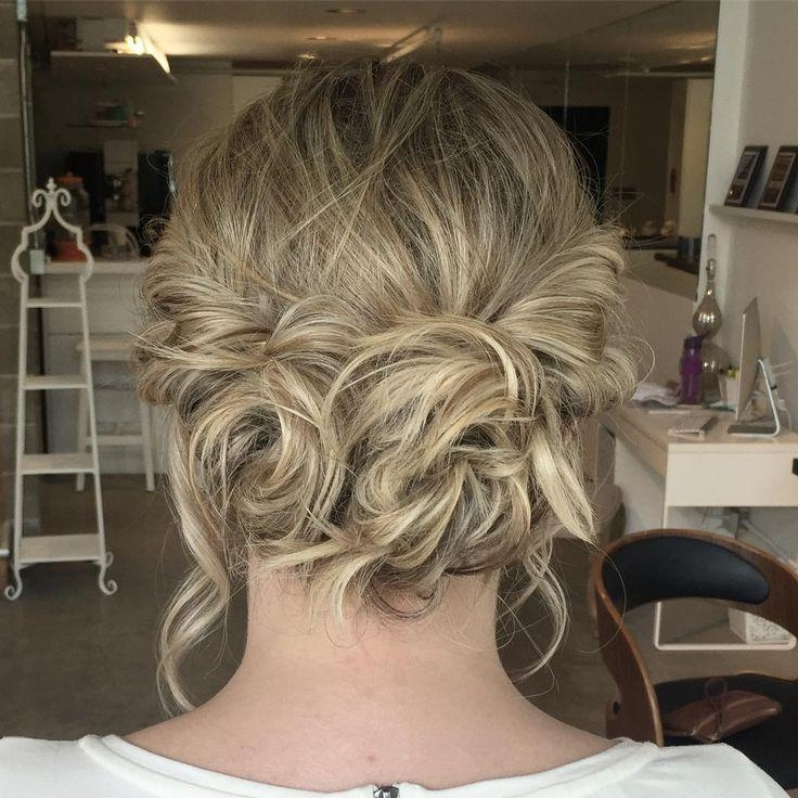 Short Hairstyles : Prom Updos For Short Curly Hair Choices Of Pertaining To Short Hairstyles For Prom Updos (View 17 of 20)