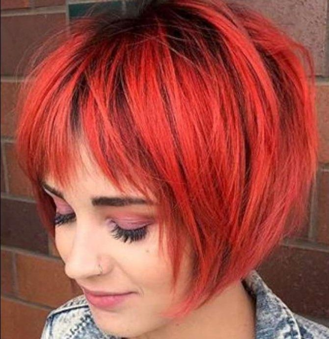 Short Hairstyles Red And Black – 2 | Fashion And Women For Red And Black Short Hairstyles (View 10 of 20)